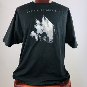 Genesis Seconds Out Mens Graphic T Shirt